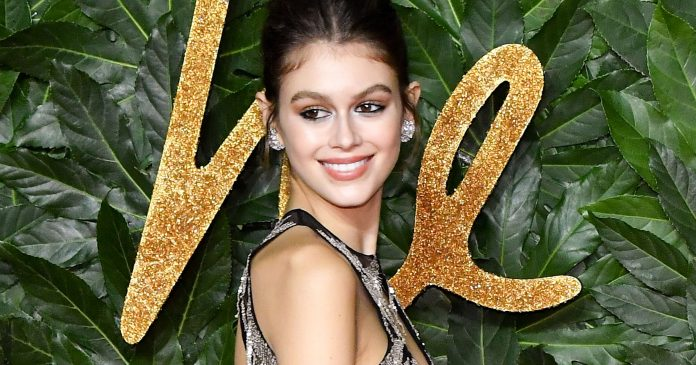 We Finally Know More About Kaia Gerber's Ribcage Tattoo