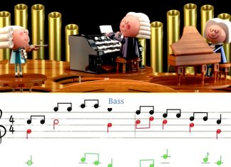Google's first AI-powered Doodle lets you make music like Bach