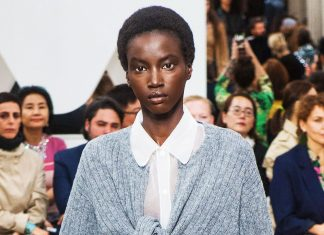 Miu Miu's Spring Show Featured A Wig Cap — & People Aren't Happy About It