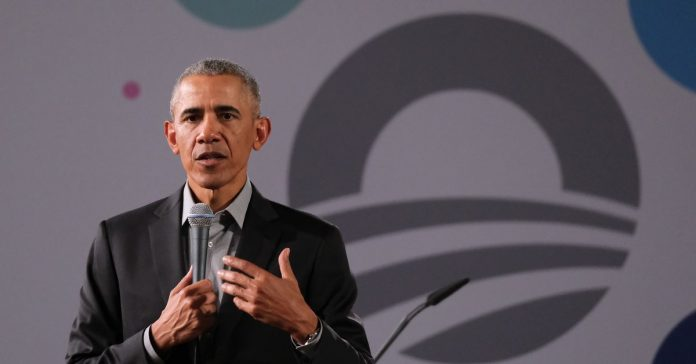 "Barack Obama warns against a ""circular firing squad"" over ideological purity in politics"