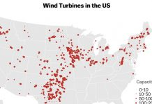 4 maps that show who's being left behind in America's wind-power boom