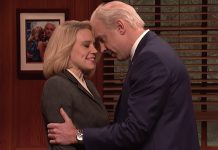 """SNL roasts Joe Biden with sensitivity training on how to ditch his """"touchy-feely stuff"""""""