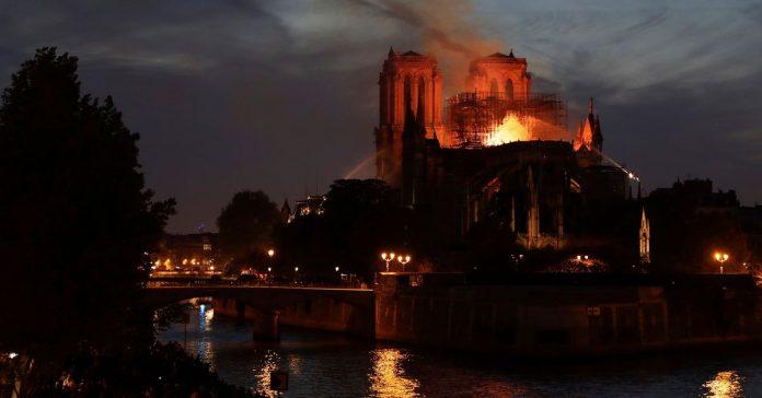 Vox Sentences: Notre Dame in flames