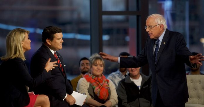 Bernie Sanders's Fox News town hall wasn't a debate. Bernie won anyway.
