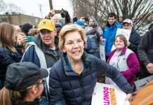 At a town hall, Elizabeth Warren had to explain why a woman is electable. Twice.