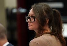 Anna Delvey Wore A White Sheer Dress For Her Final Court Date