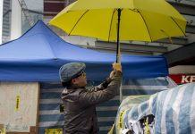 Vox Sentences: The Umbrella Movement in jail
