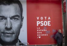 Spain's socialist party wins election, but it will need help to form a government