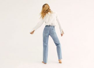 Round Out Your Denim Collection With A Pair Of Light Wash Jeans
