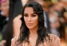 Kim Kardashian's Met Gala Dress Looks An Awful Lot Like Her Vogue Cover