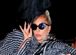 Lady Gaga Arrived At The Met Gala With The Wildest Fake Lashes We've Ever Seen
