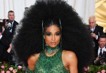 Ciara Literally Had The Biggest Hair Moment At The Met Gala