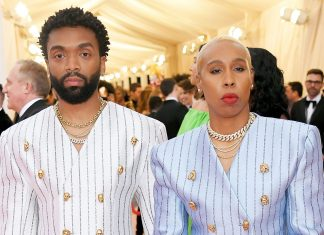 """Lena Waithe's Met Gala Jacket Spells """"Invented"""" Differently For a Reason"""