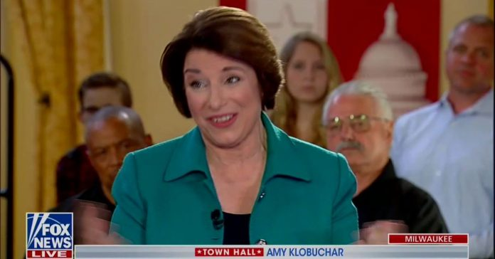 "Amy Klobuchar on Brett Kavanaugh: ""He got a really good job out of the whole thing"""