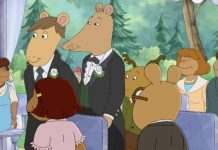 Kids' TV rarely shows same-sex marriage. On Arthur, wonderfully, it's no big deal.