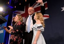Australia's conservative party retains power in shocking election result