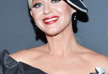 Katy Perry Reveals Long Platinum Hair Underneath Her American Idol Wig