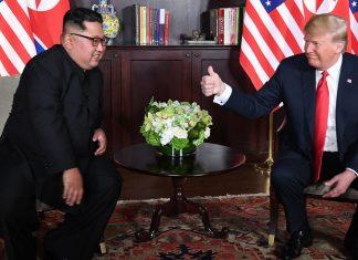 "Sarah Sanders says Trump and Kim Jong Un ""agree"" on Biden"