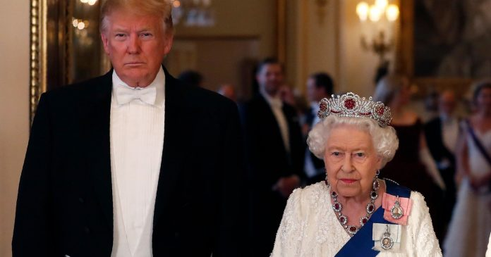 Queen Elizabeth II (Maybe) Threw Shade At President Trump With Her Outfit