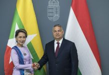 "Aung San Suu Kyi meets with Hungary's Orbán to lament their ""growing Muslim populations"""
