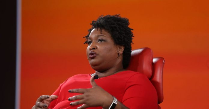 Voter suppression is the most existential crisis in our democracy, according to Stacey Abrams