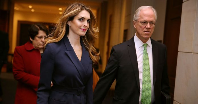 Hope Hicks will testify in front of the House Judiciary Committee next week