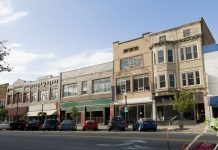 The town philanthropy rebuilt