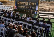 "Benjamin Netanyahu just unveiled Israel's newest town: ""Trump Heights"""