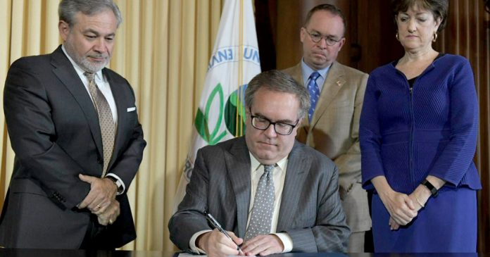 Trump's EPA just replaced Obama's signature climate policy with a much weaker rule