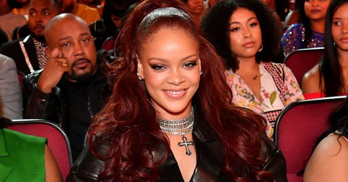 Rihanna Wore Red Hair To The BET Awards — & Fans Think It's A Major Clue
