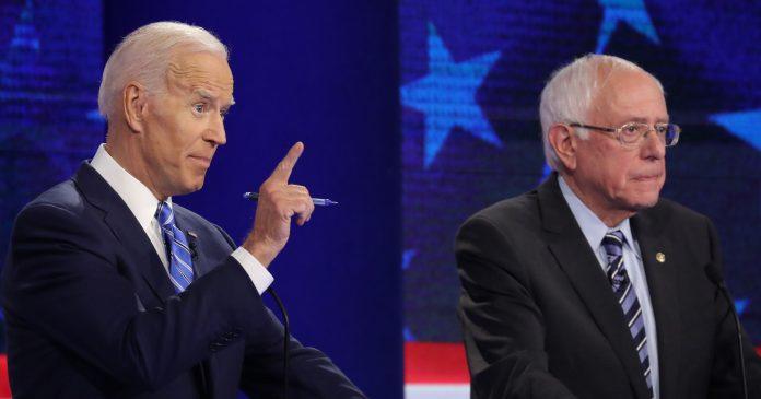 """It's My Turn"": Biden & Bernie Couldn't Stop Interrupting Everyone"