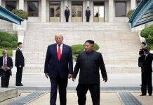 Trump steps into North Korea to meet with Kim Jong Un