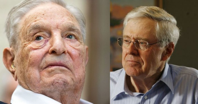 "George Soros and Charles Koch team up for a common cause: an end to ""endless war"""
