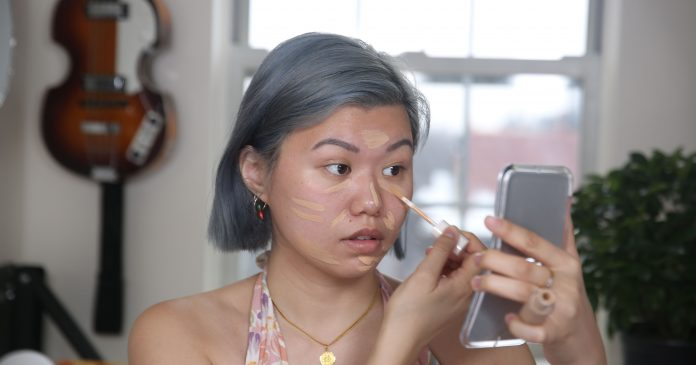 I Tested A Full Face Of Long-Wear Makeup In 95-Degree Heat
