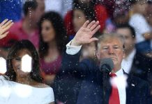 "Trump's ""Salute to America"" speech wasn't as bad as some feared. But it was still weird."