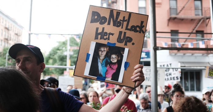 Powerful Images From #CloseTheCamps Protests Across The Country