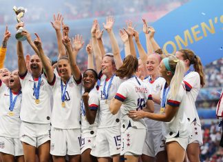 The U.S. Women's Soccer Team Takes Historic Fourth World Cup Win