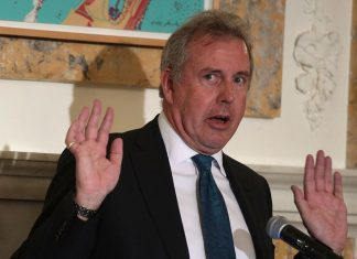 """Trump tweets """"we will no longer deal"""" with UK ambassador after leaked cables"""