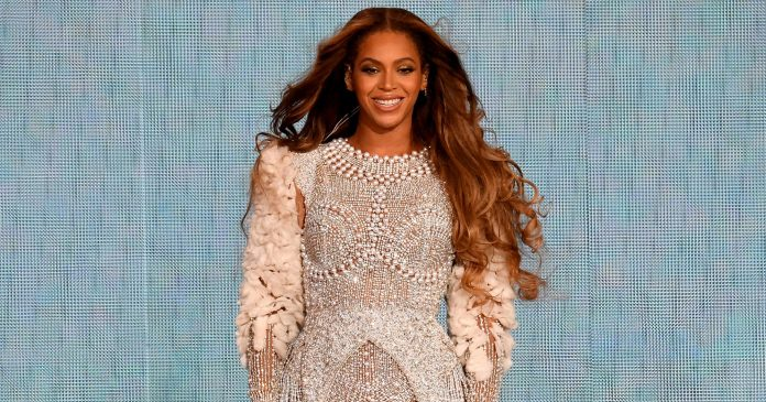 Beyoncé Put A Vintage Spin On Her Braids For The Lion King — & Fans Love It