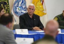 "Mike Pence visits a crowded immigrant detention center: ""This is tough stuff"""