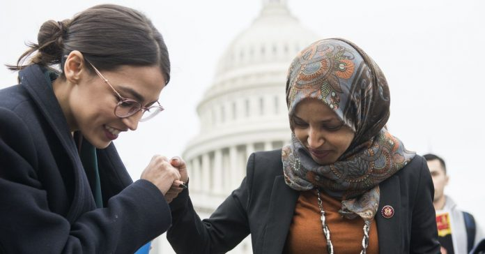 "Democrats defend Congresswomen Trump says should ""go back"" to their ""corrupt"" countries"