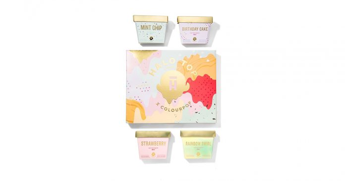 Colourpop x Halo Top Is The Cutest Beauty Collab Of The Summer