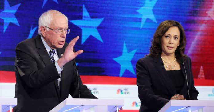 """You can't call this plan Medicare for All"": The Bernie Sanders camp pans Kamala Harris's health care plan"