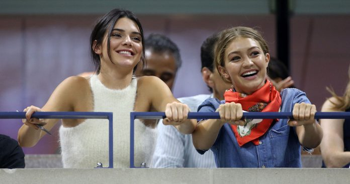 Gigi & Kendall Have Matching Manis — & We're Obsessed With The Design