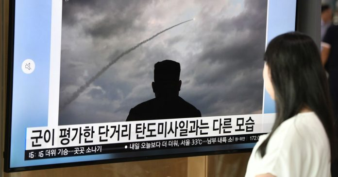 North Korea just carried out its third missile test in just over a week