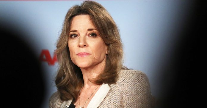 """Anderson Cooper Confronts Marianne Williamson For Calling Depression A """"Scam"""""""