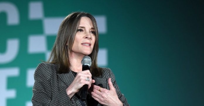 Marianne Williamson presents the 2020 Democratic primary's first reparations plan