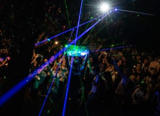 Hong Kong protesters stage a laser show in latest challenge to Beijing