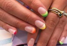 Bookmark The Rainbow French For Your Next Summer Manicure