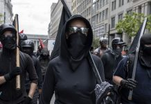 Ahead of a far-right rally in Portland, Trump tweets a warning to antifa